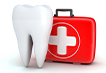 giant tooth and red emergency kit